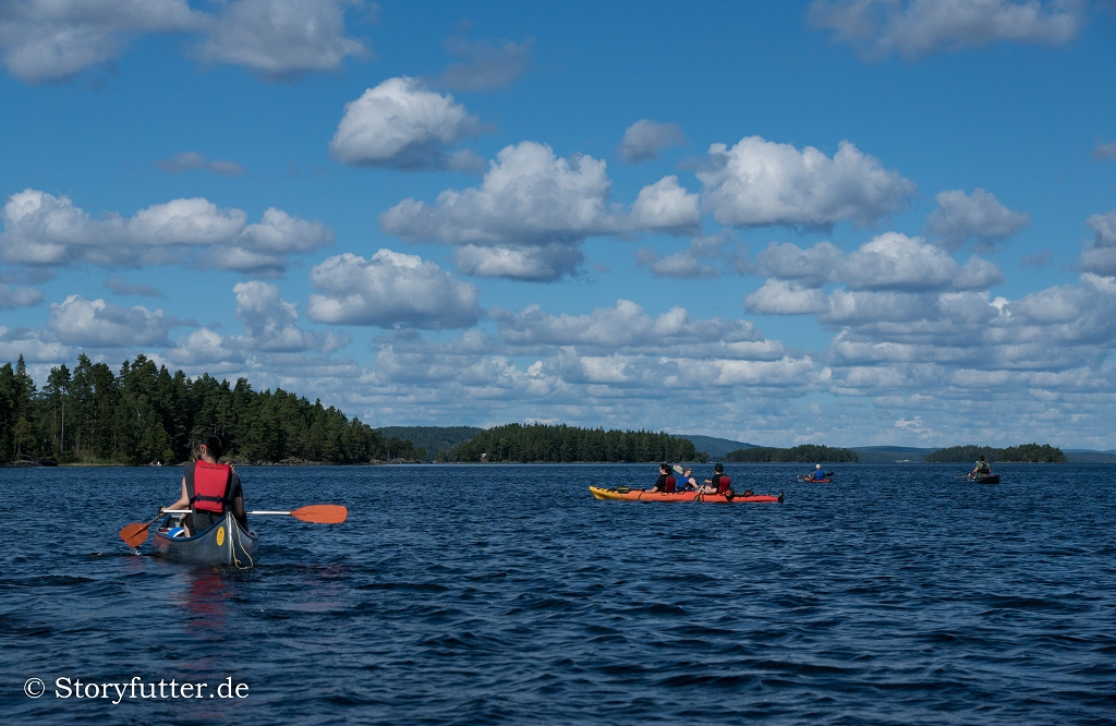 Kanutour Schweden: Mit dem Kanu auf dem Foxen