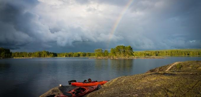 Kanutour Schweden: Ein Topf voll Gold