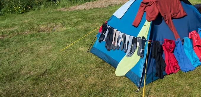 Die Wäscheleine als Allrounder