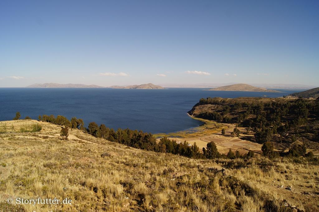 Der Titicaca-See in Bolivien