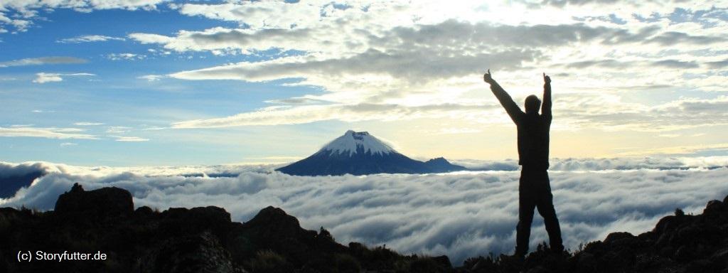 Ein Traumziel: der Vulkan Cotopaxi in Ecuador!