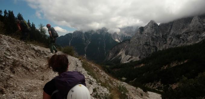 Soca Tal, Slowenien