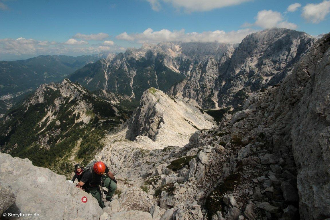 Klettersteig Soca Quelle : Klettern im soca tal u2022 storyfutter