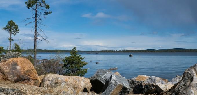 Lappland: Inari-See