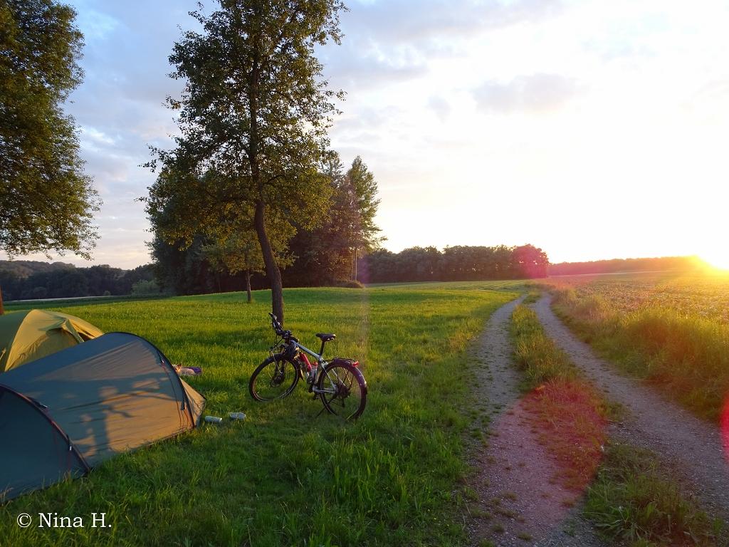 Radreise Osteuropa: Campen in Österreich