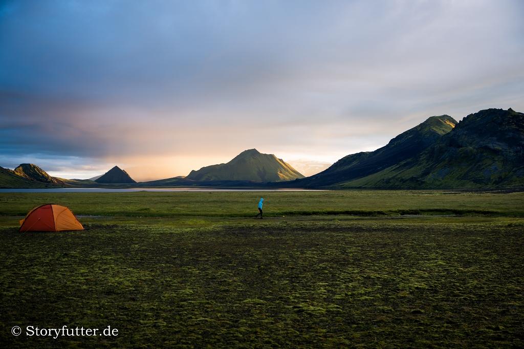 Backpacking Island - Laugavegur/Álftavatn