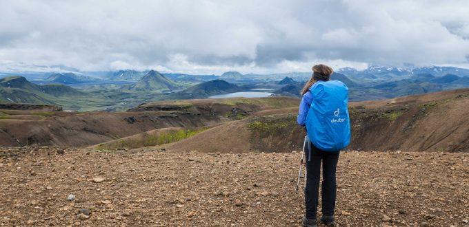 Islands Laugavegur: Ziel in Sicht