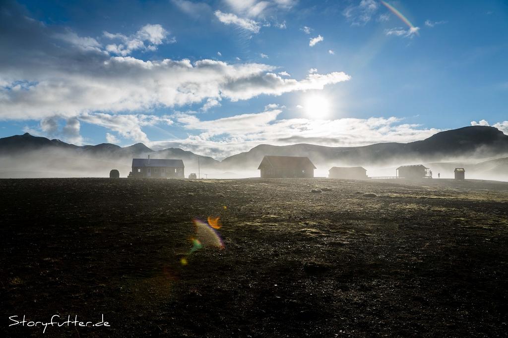 Islands Laugavegur: Guten Morgen, Álftavatn!