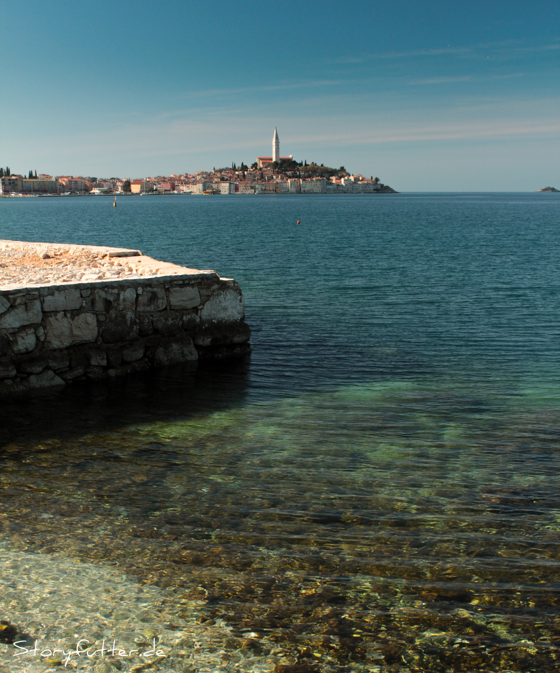 Kroatien Backpacking Rovinj