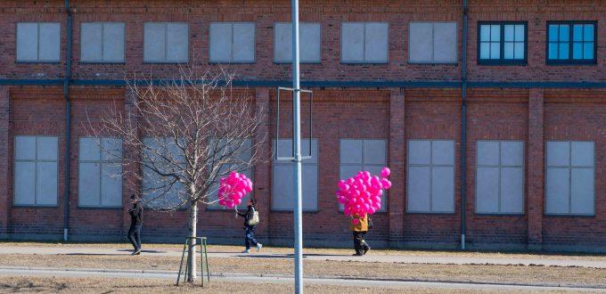 Vappu: Luftballons zum Frühlingsfest