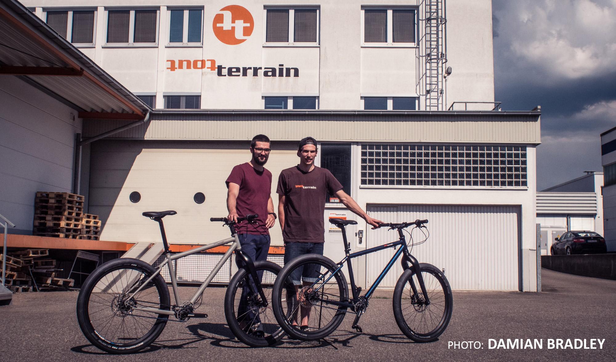 Bikerafting Jakutien Kilian Reil: Bikes von ToutTerrain