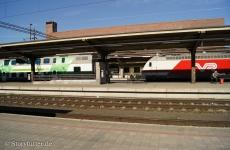 Lappland: Die finnische Bahn