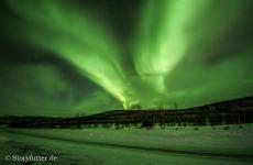 Lappland: Nordlicht in Utsjoki