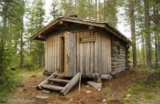 Lappland: Blockhaus