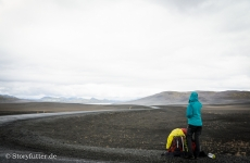 Backpacking Island - Landmannalaugar